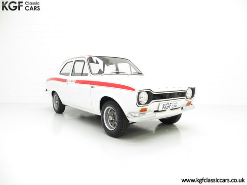 1974 A Genuine AVO Mk1 Ford Escort RS Mexico SOLD (picture 1 of 6)