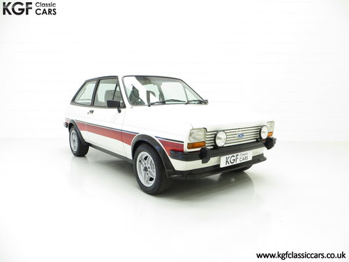 1981 A Genuine Mk1 Ford Fiesta Supersport Special Edition SOLD (picture 1 of 6)