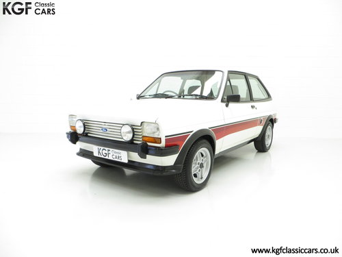 1981 A Genuine Mk1 Ford Fiesta Supersport Special Edition SOLD (picture 2 of 6)