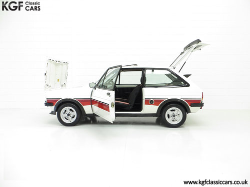 1981 A Genuine Mk1 Ford Fiesta Supersport Special Edition SOLD (picture 3 of 6)