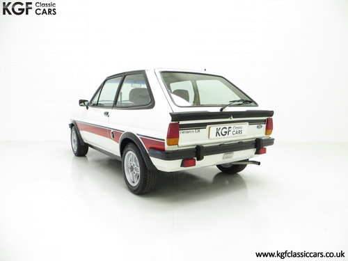 1981 A Genuine Mk1 Ford Fiesta Supersport Special Edition SOLD (picture 4 of 6)