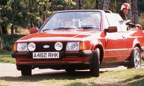 1985 Escort 1.6i Cab Exc history Princess Di style! SOLD (picture 6 of 6)