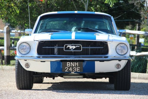 1967 FORD MUSTANG 331 STROKER CRATE MOTOR 450BHP now Sold For Sale (picture 2 of 6)