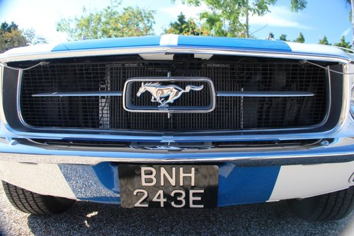 1967 FORD MUSTANG 331 STROKER CRATE MOTOR 450BHP now Sold For Sale (picture 4 of 6)