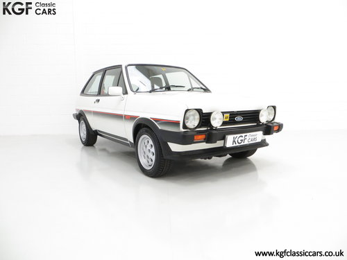 1982 An Iconic Ford Fiesta Mk1 XR2 with Just 32,592 Miles SOLD (picture 1 of 6)