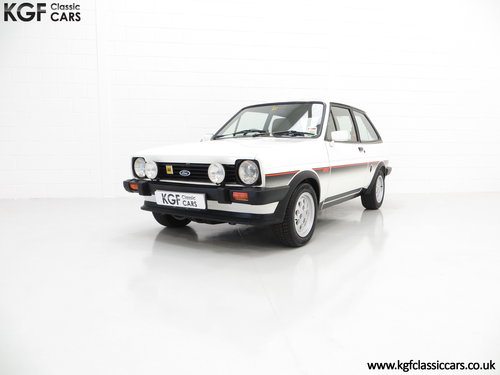 1982 An Iconic Ford Fiesta Mk1 XR2 with Just 32,592 Miles SOLD (picture 2 of 6)
