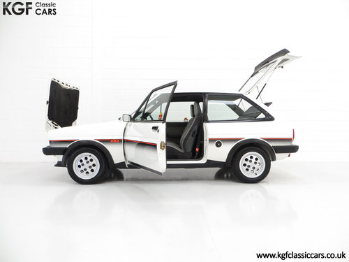 1982 An Iconic Ford Fiesta Mk1 XR2 with Just 32,592 Miles SOLD (picture 3 of 6)