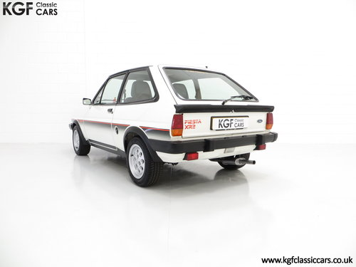 1982 An Iconic Ford Fiesta Mk1 XR2 with Just 32,592 Miles SOLD (picture 4 of 6)