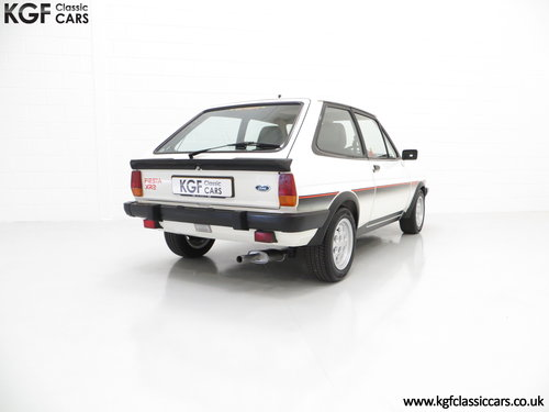1982 An Iconic Ford Fiesta Mk1 XR2 with Just 32,592 Miles SOLD (picture 5 of 6)