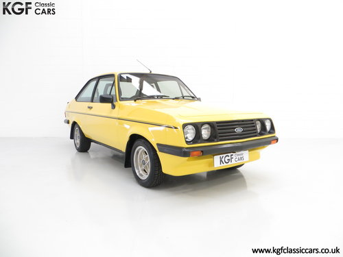 1980 A Desirable Ford Escort Mk2 RS2000 in Fabulous Condition. SOLD (picture 1 of 6)