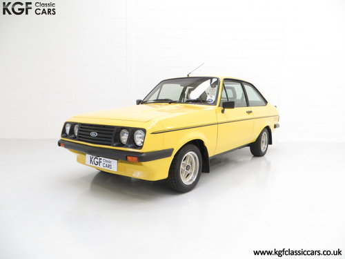 1980 A Desirable Ford Escort Mk2 RS2000 in Fabulous Condition. SOLD (picture 2 of 6)