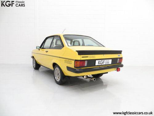 1980 A Desirable Ford Escort Mk2 RS2000 in Fabulous Condition. SOLD (picture 4 of 6)