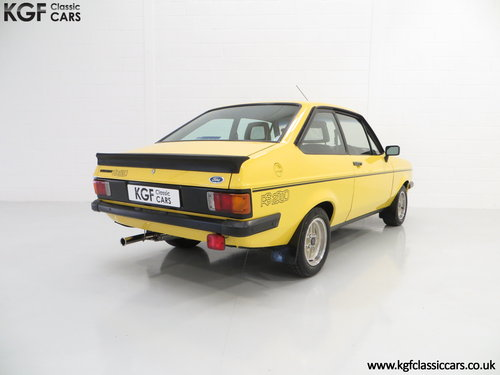1980 A Desirable Ford Escort Mk2 RS2000 in Fabulous Condition. SOLD (picture 5 of 6)