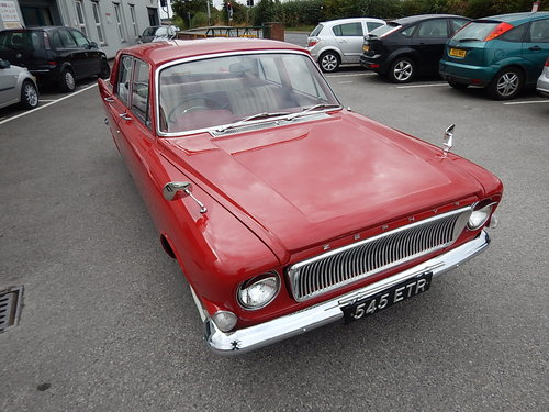 1963 FORD ZEPHYR 4 Mark lll ~ Exceptional Condition ~  SOLD (picture 2 of 6)