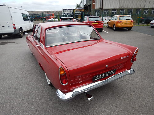 1963 FORD ZEPHYR 4 Mark lll ~ Exceptional Condition ~  SOLD (picture 4 of 6)