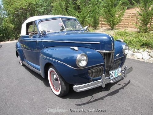 1941 Ford Super Deluxe Convertible For Sale (picture 2 of 6)