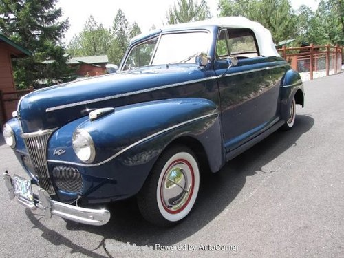 1941 Ford Super Deluxe Convertible For Sale (picture 3 of 6)