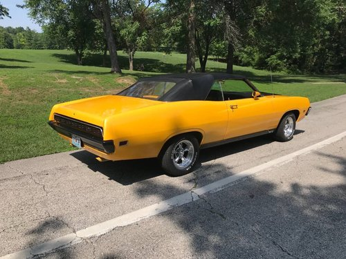 1971 Ford Torino GT Convertible  For Sale (picture 4 of 6)