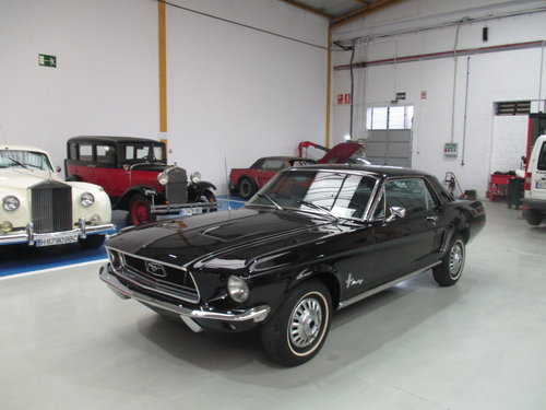 1968 FORD MUSTANG For Sale (picture 1 of 6)