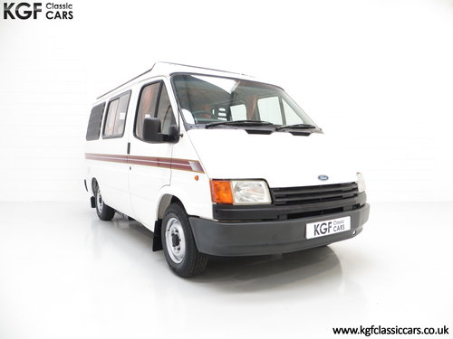 1988 A Retro 4-Berth Ford Transit Mk3 Autosleeper 'Frisky'  SOLD (picture 1 of 6)