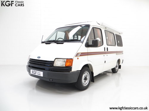 1988 A Retro 4-Berth Ford Transit Mk3 Autosleeper 'Frisky'  SOLD (picture 2 of 6)