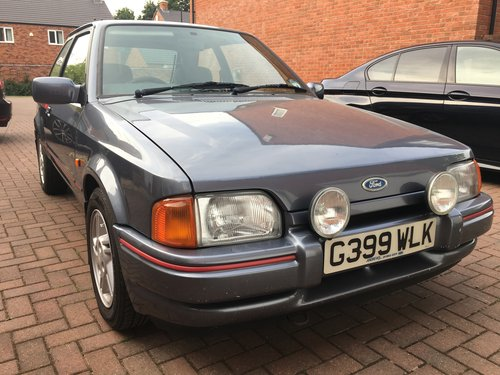 Ford Escort Xr3i 1989 Sold Car And Classic