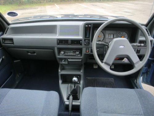 1985 Ford Escort 1.3L 30,000 miles Full Service History For Sale (picture 3 of 6)