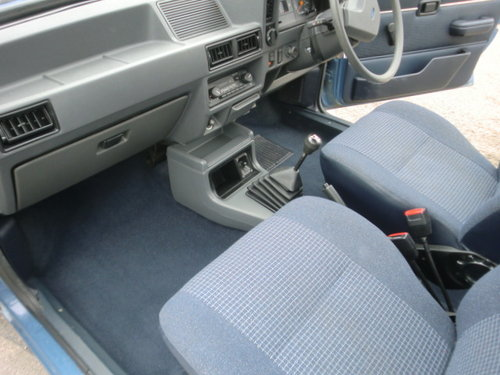 1985 Ford Escort 1.3L 30,000 miles Full Service History For Sale (picture 6 of 6)