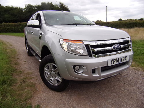 2014 Ford Ranger Limited 4x4 TDCi For Sale (picture 1 of 6)