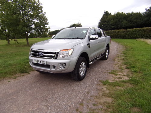2014 Ford Ranger Limited 4x4 TDCi For Sale (picture 3 of 6)