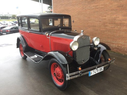 FORD MODEL A 1931 SPECTACULAR For Sale (picture 1 of 6)