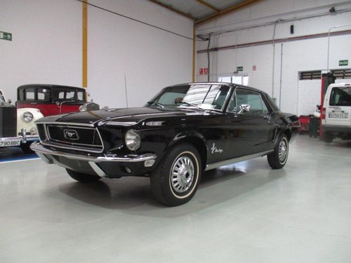 FORD MUSTANG FOR SALE YEAR 1968 For Sale (picture 1 of 6)