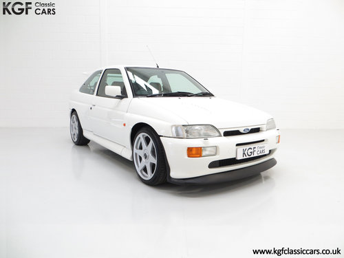 1992 A Desirable Big Turbo Ford Escort RS Cosworth Luxury SOLD (picture 1 of 6)