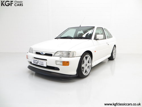 1992 A Desirable Big Turbo Ford Escort RS Cosworth Luxury SOLD (picture 2 of 6)