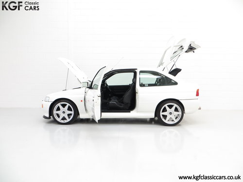 1992 A Desirable Big Turbo Ford Escort RS Cosworth Luxury SOLD (picture 3 of 6)