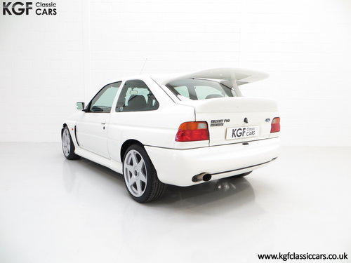 1992 A Desirable Big Turbo Ford Escort RS Cosworth Luxury SOLD (picture 4 of 6)