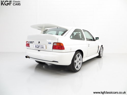 1992 A Desirable Big Turbo Ford Escort RS Cosworth Luxury SOLD (picture 5 of 6)