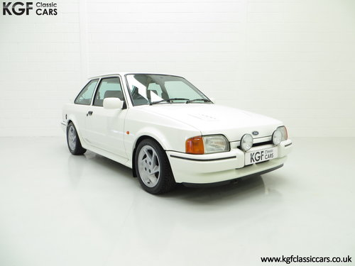 1989 A Hot Hatch Ford Escort RS Turbo Series 2 with 39,980 Miles. SOLD (picture 1 of 6)