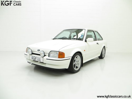 1989 A Hot Hatch Ford Escort RS Turbo Series 2 with 39,980 Miles. SOLD (picture 2 of 6)
