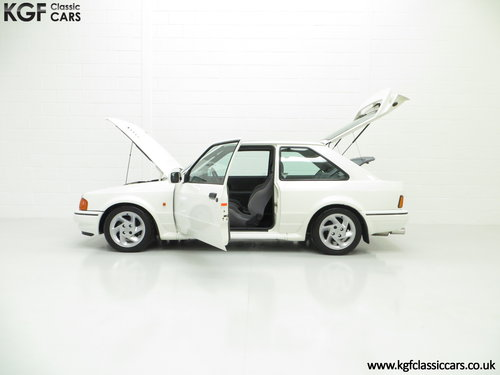 1989 A Hot Hatch Ford Escort RS Turbo Series 2 with 39,980 Miles. SOLD (picture 3 of 6)