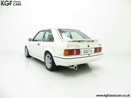 1989 A Hot Hatch Ford Escort RS Turbo Series 2 with 39,980 Miles. SOLD (picture 4 of 6)