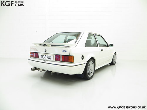 1989 A Hot Hatch Ford Escort RS Turbo Series 2 with 39,980 Miles. SOLD (picture 5 of 6)