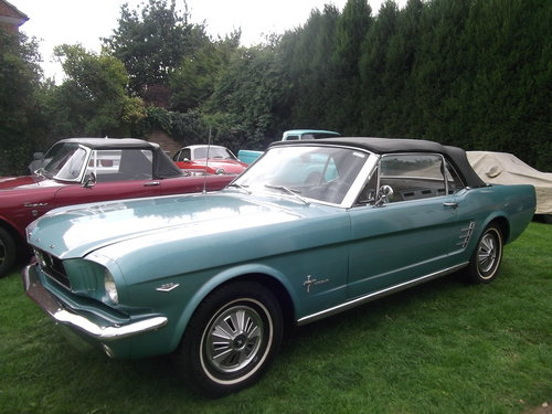 1966 Mustang 289 V8 C Code, Automatic, 2 Owner Survivor Car SOLD (picture 1 of 6)