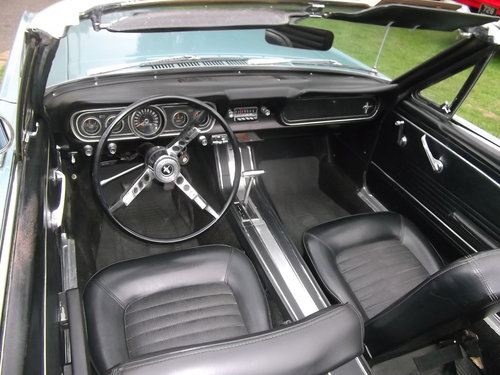 1966 Mustang 289 V8 C Code, Automatic, 2 Owner Survivor Car SOLD (picture 3 of 6)
