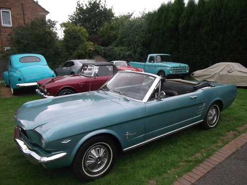 1966 Mustang 289 V8 C Code, Automatic, 2 Owner Survivor Car SOLD (picture 4 of 6)