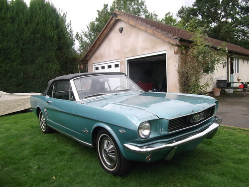 1966 Mustang 289 V8 C Code, Automatic, 2 Owner Survivor Car SOLD (picture 5 of 6)