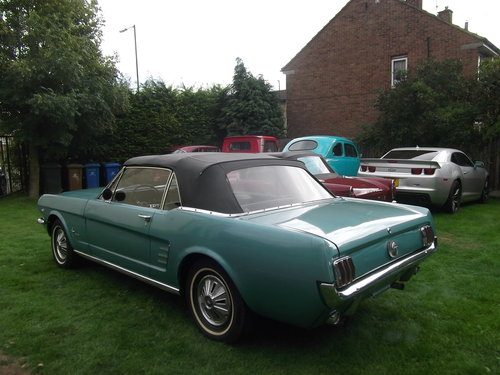 1966 Mustang 289 V8 C Code, Automatic, 2 Owner Survivor Car SOLD (picture 6 of 6)