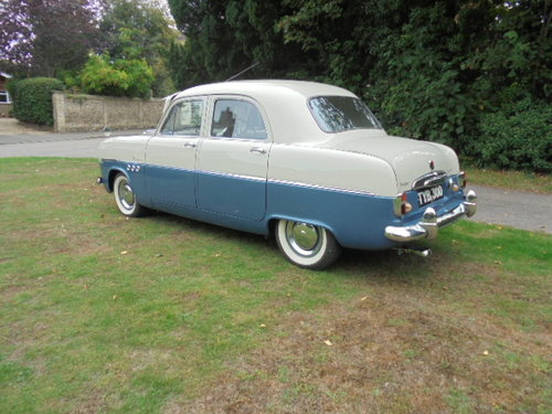 1955 FORD ZODIAC MK1  SOLD (picture 6 of 6)