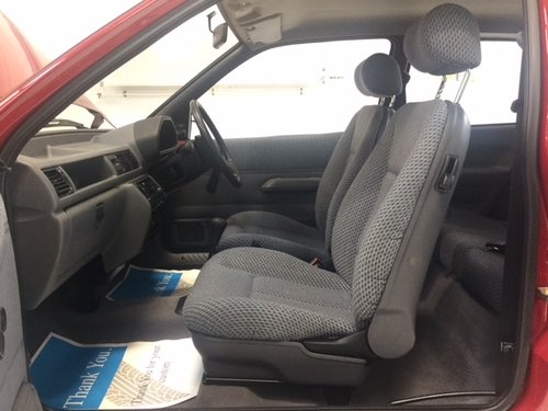 1992 Ford Fiesta MK 3 - Mint Condition - 9000 miles SOLD (picture 4 of 6)