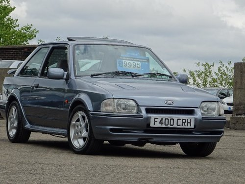 1988 Ford Escort 1.6 Turbo RS 3dr For Sale (picture 1 of 6)